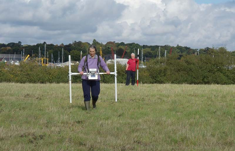 geophysical surveying at sutton hoo